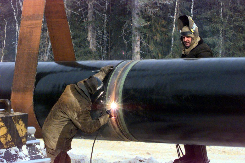 НОВА строительство газопровода